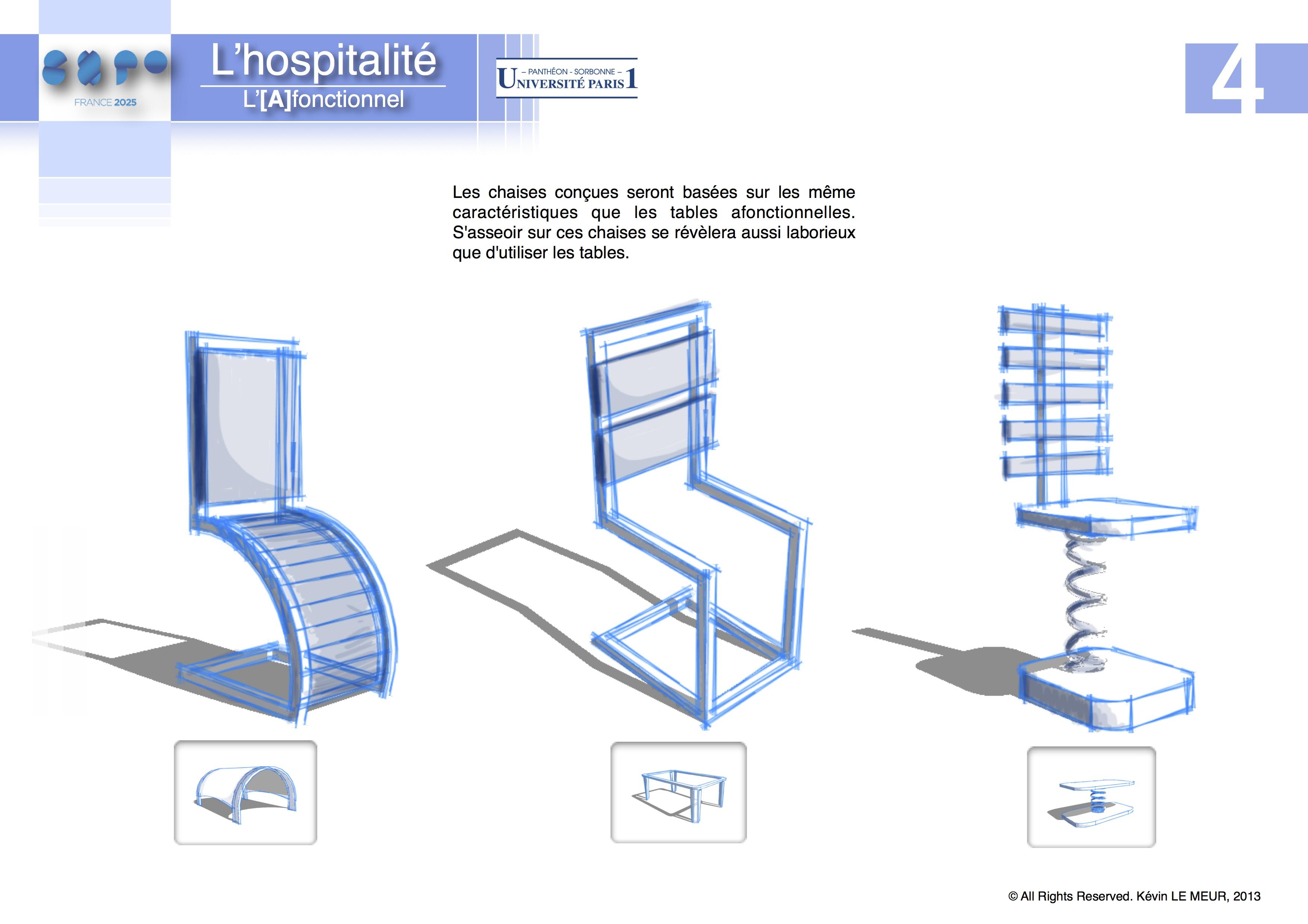 Projet De L A Fonctionnel En Milieu Urbain Klm Design
